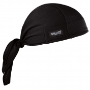 Ergodyne Chill-Its 6615 High-Performance Dew Rag - Black