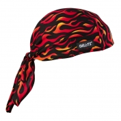 Ergodyne Chill-Its 6615 High-Performance Dew Rag - Flames