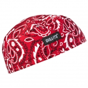 Ergodyne Chill-Its 6630 High-Performance Cap - Red Western