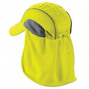 Ergodyne Chill-Its 6650 High Performance Hat with Neck Shade - Yellow/Lime