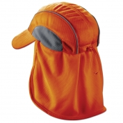 Ergodyne Chill-Its 6650 High Performance Hat with Neck Shade - Orange