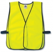 Ergodyne GloWear 8010HL Economy Vest - Velcro Closure - Yellow/Lime