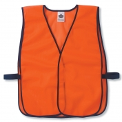 Ergodyne GloWear 8010HL Economy Vest - Velcro Closure - Orange