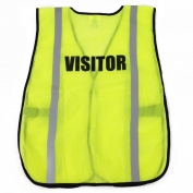 Ergodyne Pre-Printed VISITOR Safety Vest - Yellow/Lime