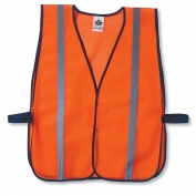 Ergodyne GloWear 8020HL Standard Vest - Velcro Closure - Orange
