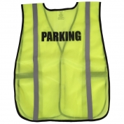 Ergodyne Pre-Printed PARKING Safety Vest - Yellow/Lime