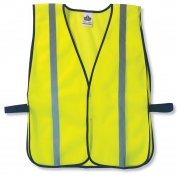 Ergodyne GloWear 8020HL Standard Vest - Velcro Closure - Yellow/Lime