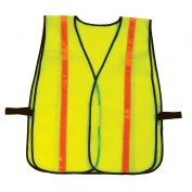 Ergodyne GloWear 8040HL Hi-Gloss Vest - Velcro Closure - Yellow/Lime