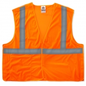 Ergodyne GloWear 8215BA Breakaway Vest - Velcro Closure - Orange
