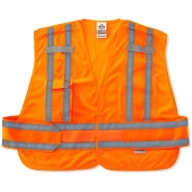 Ergodyne GloWear 8244PSV Expandable Public Safety Vest - Orange