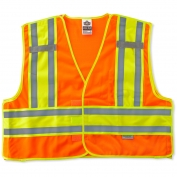 Ergodyne GloWear 8245PSV Public Safety Vest - Orange