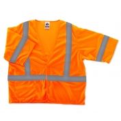 Ergodyne GloWear 8310HL Economy Vest - Velcro Closure - Orange