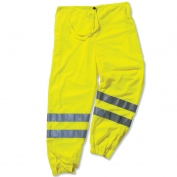 Ergodyne GloWear 8910 Class E Hi-Vis Pants - Yellow/Lime