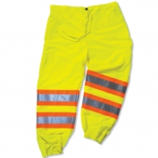 Ergodyne GloWear 8911 Class E Two-Tone Pants - Yellow/Lime