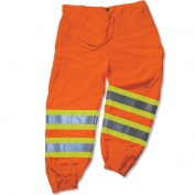 Ergodyne GloWear 8911 Class E Two-Tone Pants - Orange