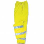 Ergodyne GloWear 8915 Class E Rain Pants - Yellow/Lime