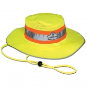 Ergodyne GloWear 8935 Hi-Vis Ranger Hat - Yellow/Lime