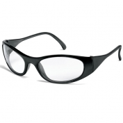 Crews Frostbite 2 Safety Glasses - Black Frame - Clear Lens