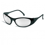 Crews F2119 Frostbite 2 Safety Glasses - Black Frame - Indoor/Outdoor Mirror Lens