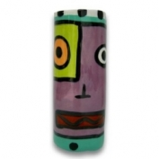 Contempo Face Vase - Purple