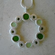 Prague Necklace - Green