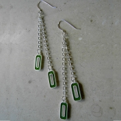 Capri Earrings - Green