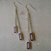 Capri Earrings - Purple