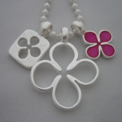 Chance Necklace - Fuchsia
