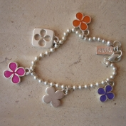 Chance Bracelet - Purple Orange & Fuchsia