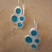 Stella Earrings - Blue