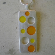 Swissy Necklace - Orange & Yellow