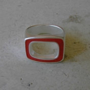 Epic Ring - Coral - Size 7