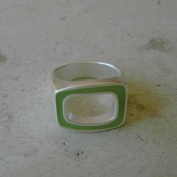 Epic Ring - Lime - Size 7
