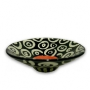 Small Flared Dish - Coral