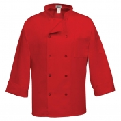 Fame C10P 10 Button Long Sleeve Chef Coat