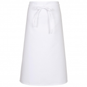 Fame F24N Most Popular Bistro Apron - White