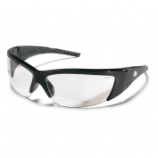 Crews ForceFlex 2 Safety Glasses - Black Frame - Clear Lens