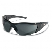 Crews ForceFlex 2 Safety Glasses - Black Frame - Gray Lens