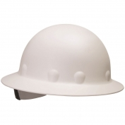 Fibre Metal P1AW Full Brim Roughneck Hard Hat - TabLok Suspension - White