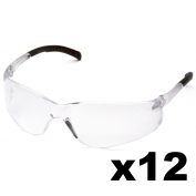 Full Source FS210-DZ Orbweaver Safety Glasses - Clear Lens (12 Pairs)