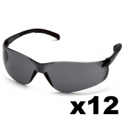 Full Source FS212-DZ Orbweaver Safety Glasses - Gray Lens (12 Pairs)