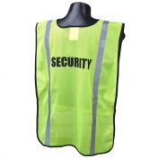 Full Source FSPRE Pre-Printed SECURITY Safety Vest