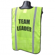 Full Source FSPRE Pre-Printed TEAM LEADER Safety Vest