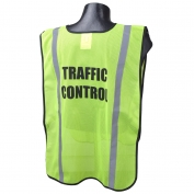 Full Source FSPRE Pre-Printed TRAFFIC CONTROL Safety Vest