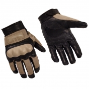 Wiley X CAG-1 Combat Assault Gloves - Coyote Brown
