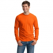 Gildan G2400 Ultra Cotton Long Sleeve T-Shirt - Orange