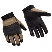 Wiley X Hybrid Hard Knuckle Gloves - Coyote Brown