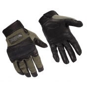 Wiley X Hybrid Hard Knuckle Gloves - Foliage Green