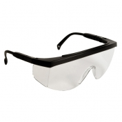 Radians G4 Junior Safety Glasses - Black Frame - Clear Lens