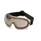 Pyramex Indirect Vent Chemical Goggles - Gray Body - Gray Anti-Fog Lens